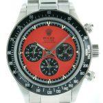 5 Abbildung zum Produkt Rolex Daytona Paul Newman stahl - rotes Ziffernblatt