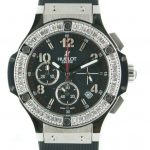 Product:Hublot Big Bang Black Magic Diamonds Damen Chrono