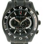 5 Abbildung zum Produkt Bulgari Herren PVD schwarz Chronograph