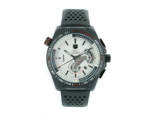 Tag Heuer Grand Carrera RS weiss