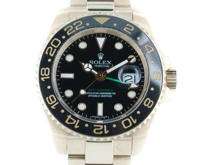 Rolex GMT Master 2012 18k Gold Keramik-Lünette