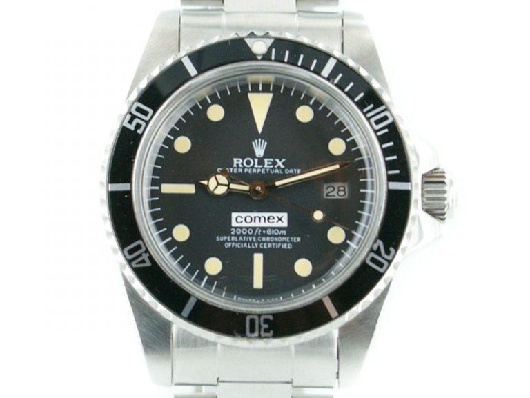 Rolex Submariner Comex mit schwarzem Ziffernblatt