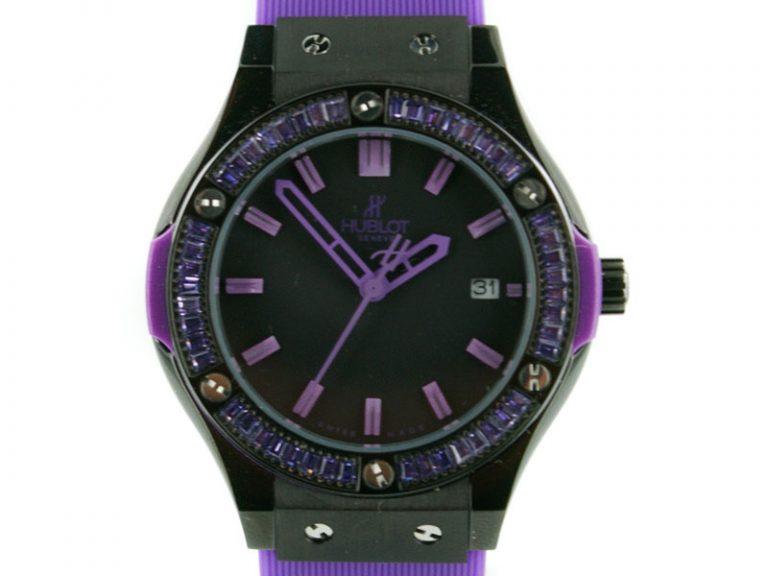 Hublot Big Bang Tutti Frutti Black Purple