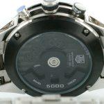 5 Abbildung zum Produkt Tag Heuer Mikrogirder 5000 stahl mit schwarzem Ziffernblatt