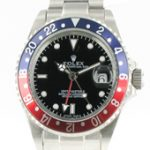 Rolex GMT Master II - blau/rote Lünette