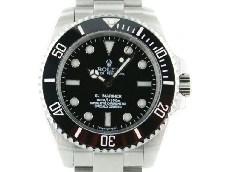 Rolex Submariner Keramic no Date schwarz