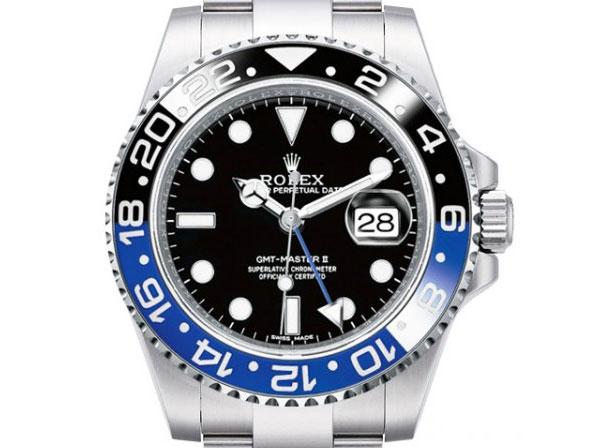 Rolex New GMT Master 2013 Keramik Blau Schwarz