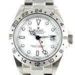 Rolex Explorer II stahl - weisses Ziffernblatt