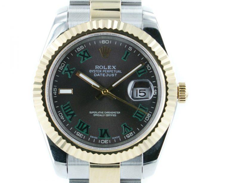 Rolex Datejust II 2014 stahl / gold 41mm