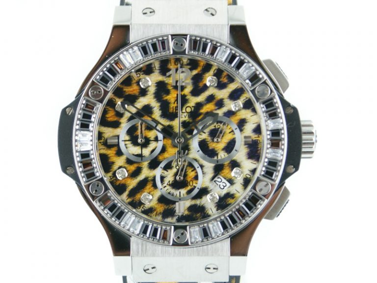 Hublot Big Bang 48mm Snow Leopard stahl