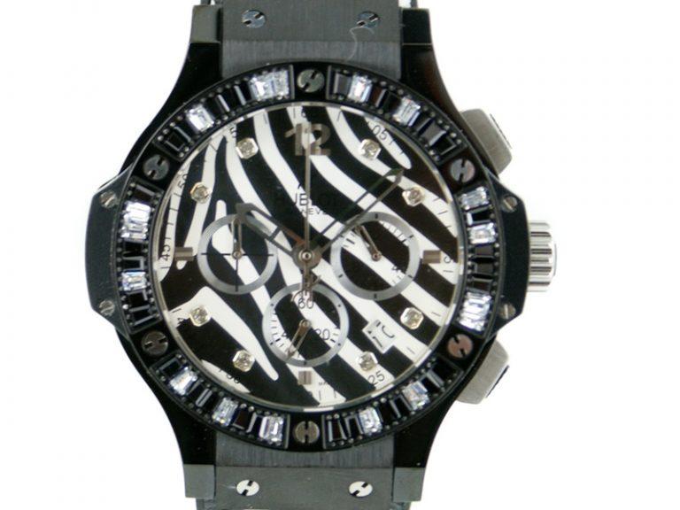 Hublot Big Bang 48mm Zebra Bang black