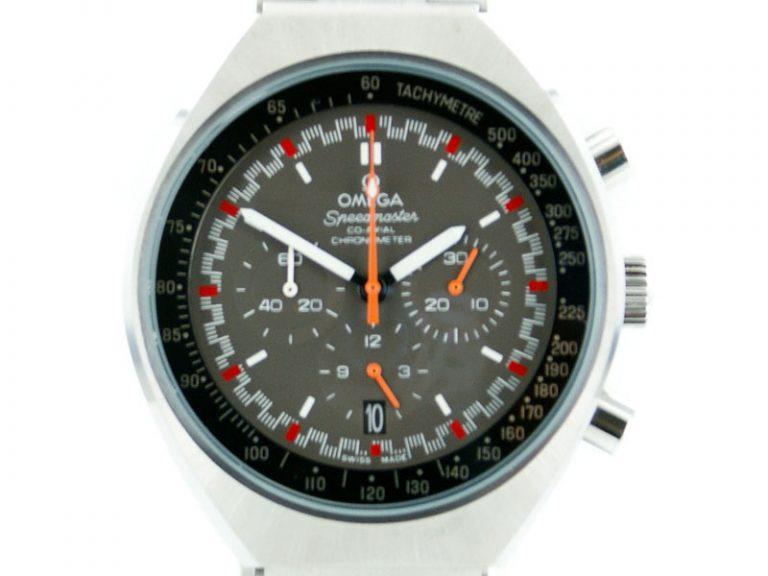 Omega Speedmaster Mark II schwarz / orange