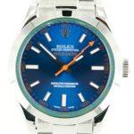 7 Abbildung zum Produkt Rolex Milgauss 2015 blaues Ziffernblatt