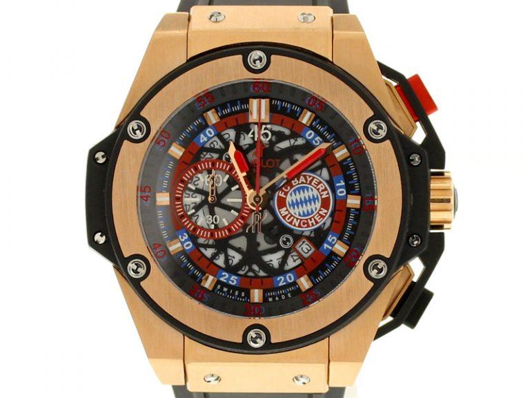 Hublot Big Bang King Power FC Bayern München Rosegold