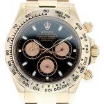7 Abbildung zum Produkt Rolex Daytona Rosegold mit schwarzm Zifferblatt