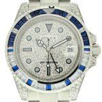 3 Abbildung zum Produkt Rolex GMT Master II Diamond und Sapphire Edition