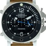 Product:Panerai PAM 615 Luminor Submersible Flyback Lederarmband
