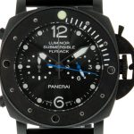 Panerai PAM 615 Luminor Submersible Flyback Black Steel