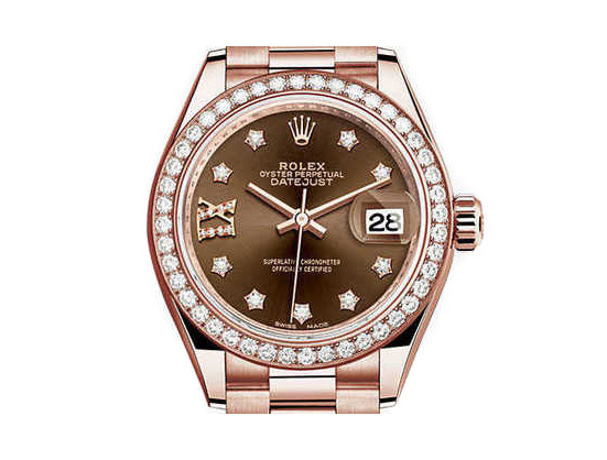 Rolex Datejust Damen Everose 28mm