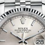 Product:Rolex Datejust 36mm Jubilee Armband grau