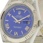 5 Abbildung zum Produkt Rolex DayDate II 40mm Zifferblatt blau
