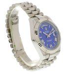 7 Abbildung zum Produkt Rolex DayDate II 40mm Zifferblatt blau