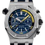 Product:Audemars Piguet Royal Oak Offshore Diver Chrono blau