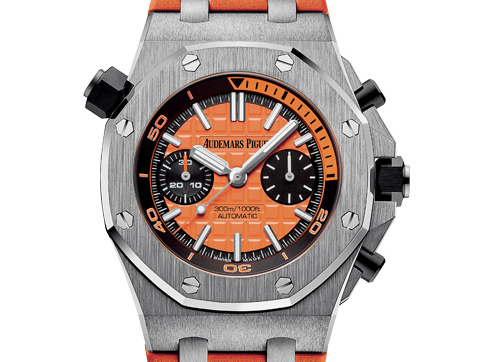 Audemars Piguet Royal Oak Offshore Diver Chrono orange