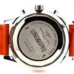 5 Abbildung zum Produkt Breitling Montbrillant leder - weisses Zifferblatt