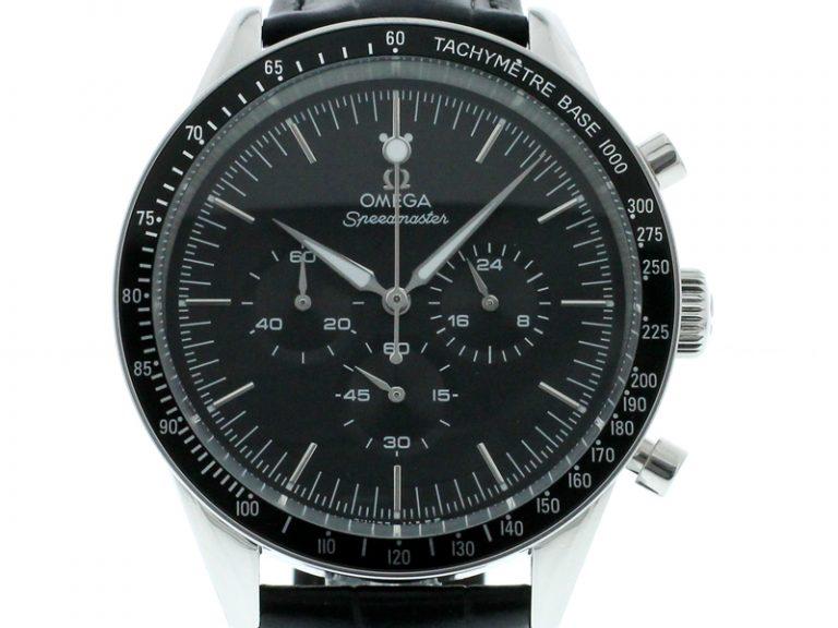 Omega Moonwatch CHRONOGRAPH 39,7 mm stahl schwarz