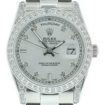 8 Abbildung zum Produkt Rolex DayDate 36mm Diamonds President Armband