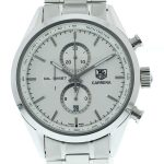 Product:Tag Heuer Carrera Chronograph Tachymeter silber