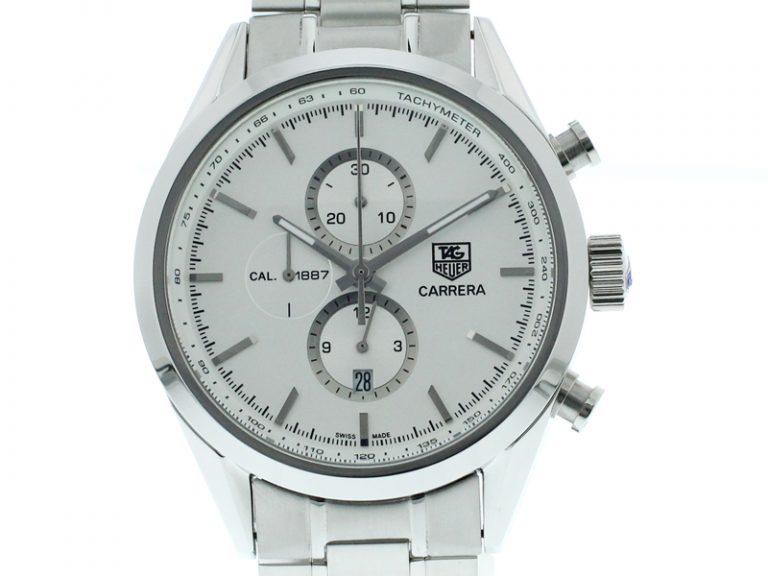 Tag Heuer Carrera Chronograph Tachymeter silber