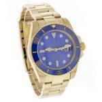 2 Abbildung zum Produkt Rolex Submariner Date 18k Gold blaue Keramik-Lünette