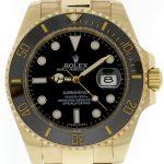 1 Abbildung zum Produkt Rolex Submariner Date 18k Gold schwarze Keramik-Lünette