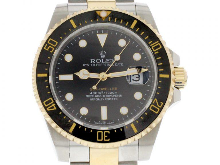 Rolex 2019 Sea-Dweller bicolor stahl/gold