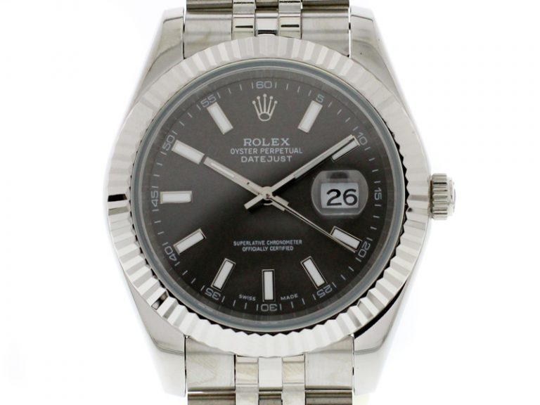 Rolex Datejust 41mm 2019 Jubilee Rhodium