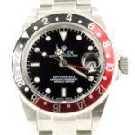Rolex GMT Master II - schwarz/rote Lünette