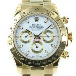Rolex Daytona gold - weisses Ziffernblatt