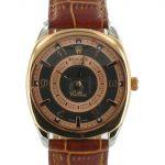 Rolex Cellini Danaos mit braunem Lederband