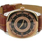 1 Abbildung zum Produkt Rolex Cellini Danaos mit braunem Lederband