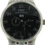 1 Abbildung zum Produkt IWC Schaffenhausen Portugieser schwarz