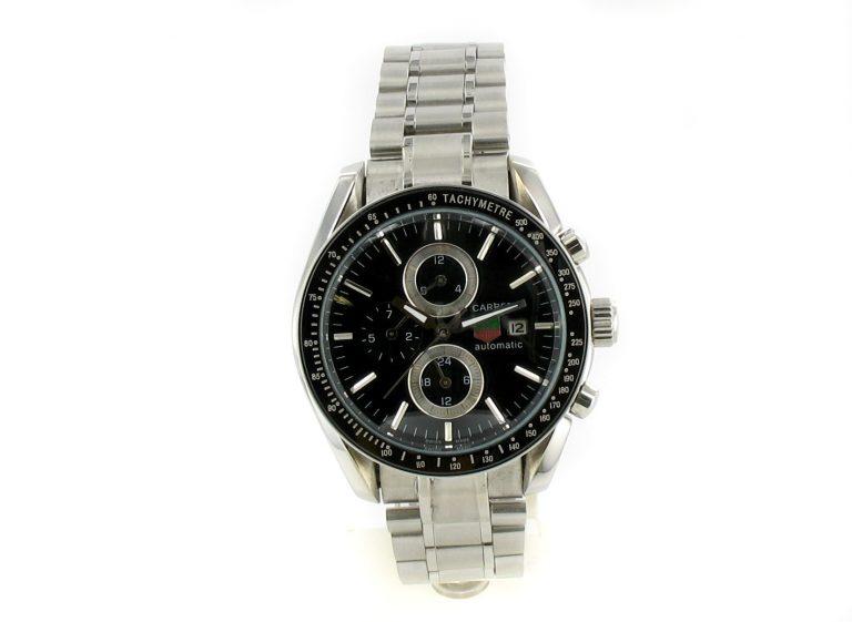 Tag Heuer Carrera Chronograph Tachymeter schwarz