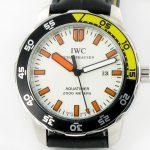 IWC Aquatimer Automatik leder/weiss
