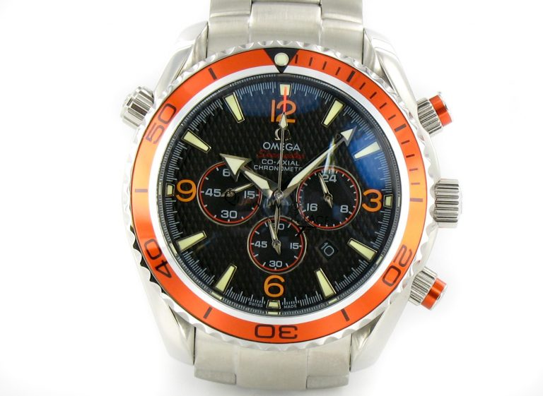 Omega Seamaster Planet Ocean Chrono Orange