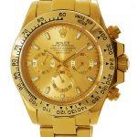 2 Abbildung zum Produkt Rolex Daytona gold mit goldenem Zifferblatt