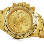 3 Abbildung zum Produkt Rolex Daytona gold mit goldenem Zifferblatt