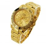 4 Abbildung zum Produkt Rolex Daytona gold mit goldenem Zifferblatt