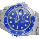 3 Abbildung zum Produkt Rolex Submariner Weissgold blau mit Keramik-Lünette