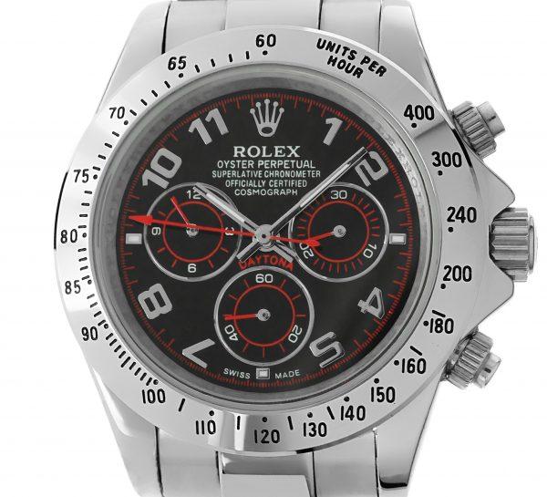 Rolex Daytona Weissgold Edition schwarzes Ziffernblatt